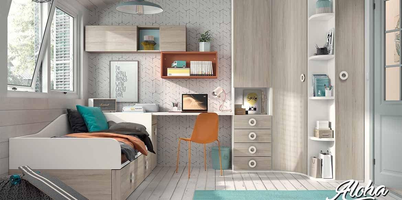 Nuevas habitaciones juveniles de Muebles Hermida