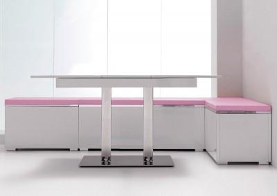 Mesa de cocina extensible Sayoko