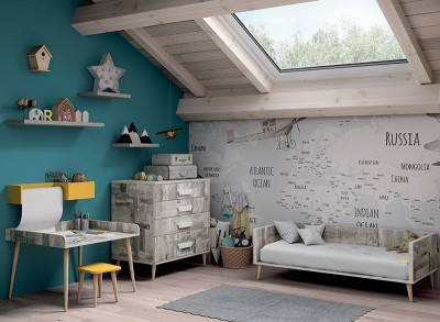Dormitorio Bebé Metrópoli 08, de Muebles ROS