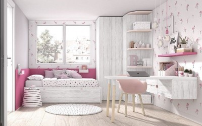 Dormitorio Juvenil Mood 01, de Muebles ROS