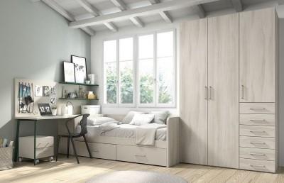 Dormitorio Juvenil Mood 03, de Muebles ROS