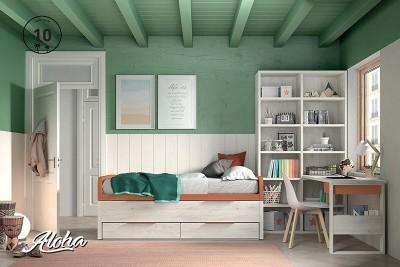 Dormitorio juvenil Aloha 10
