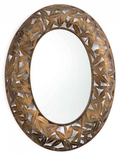 Espejo de pared hojas 70x91cms Gajisa