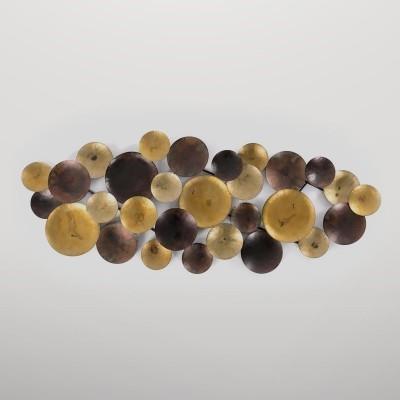 Figura esferas de metal Gajisa