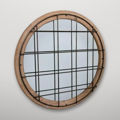 Espejo pared circular Gajisa