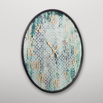Reloj de pared ovalado Gajisa