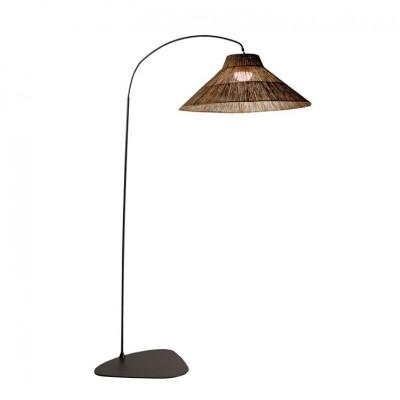 Lámpara de pie de arco sin cables Niza, de New Garden