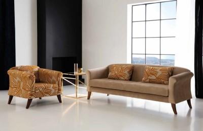 Sofa y butaca Gaudí, de RAGA
