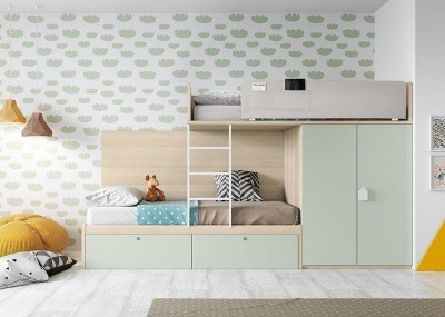 Dormitorio Juvenil Antaix B41