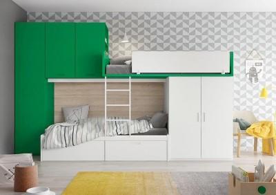 Dormitorio Juvenil Antaix B45
