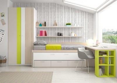 Dormitorio Juvenil Antaix C38