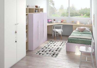 Dormitorio Juvenil Antaix N21