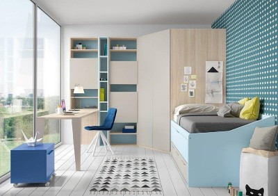Dormitorio Juvenil Antaix N28