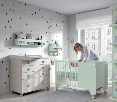 Dormitorio Bebé Soft Wood 01, de Muebles ROS