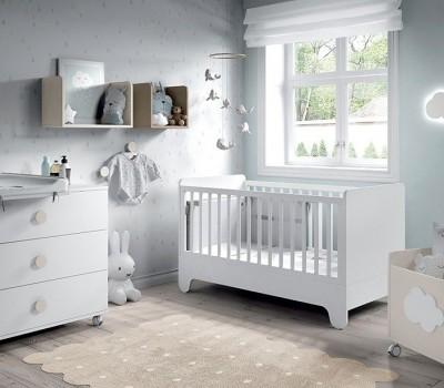 Dormitorio Bebé Soft White 04, de Muebles ROS