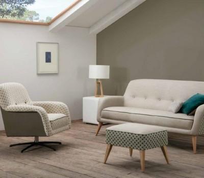 Sofa y butaca Sandy, de RAGA