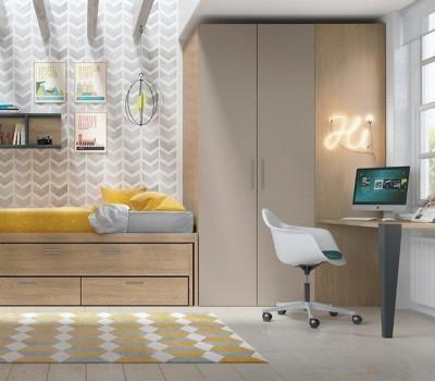 Dormitorio Juvenil Antaix C35